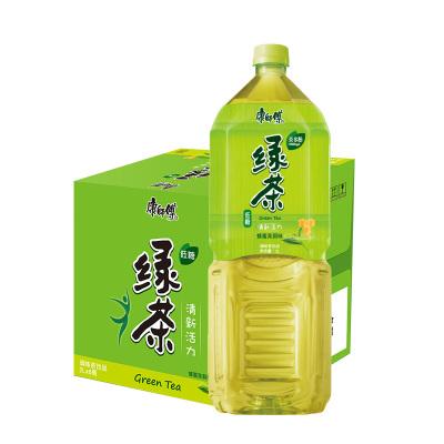 康师傅 绿茶 蜂蜜茉莉味茶饮料 2L*6瓶 整箱装