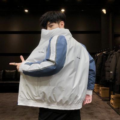 潜徒(QIANTU)2019年冬季新款男士棉衣时尚青年韩版修身休闲加厚潮流棉服百搭保暖外套