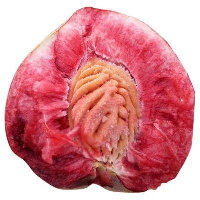 【拍2份9折】農家朱砂紅老樹血桃現摘紅肉桃子當季時令孕婦水果5斤整箱毛桃