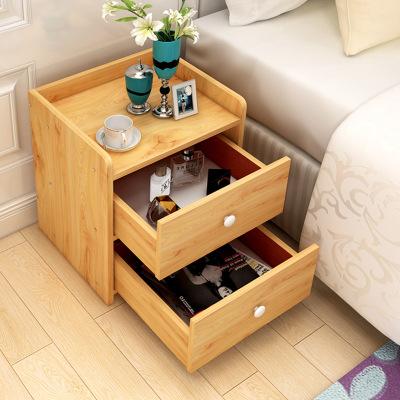 簡約床頭柜臥室床邊小型置物柜組裝經濟型收納柜古達宿舍儲物小柜子