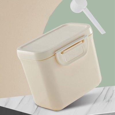 babycare奶粉盒便携外出 婴儿大容量多功能奶粉分装盒 宝宝奶粉格素米520ml 1620