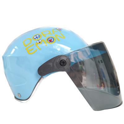 兒童頭盔男孩女夏季電動電瓶車小孩寶寶四季通用摩托車安全帽半盔