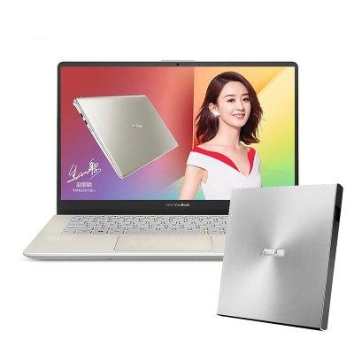 【套餐】华硕(ASUS)灵耀S 2代 14.0英寸笔记本+华硕8倍速 USB2.4 外置DVD刻录机
