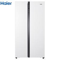海尔576升风冷无霜对开门冰箱 轻薄机身 厨装一体 节能环保 家用电冰箱