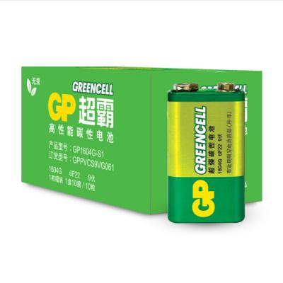 超霸(GP) 碳性電池9V