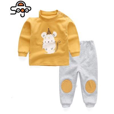 寶寶秋衣秋褲套裝1-3歲小孩睡衣男童兒童內衣女童棉毛衫全棉4