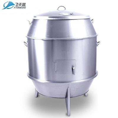 飛天鼠(FTIANSHU) 商用燒鴨爐果木炭式吊爐烤雞爐烤鴨機 90雙層