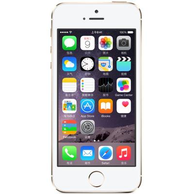Apple 蘋果iPhone 5s 移動聯通4G 金色手機 全新蘋果原裝正品老人機學生機 金色 16G【裸機】
