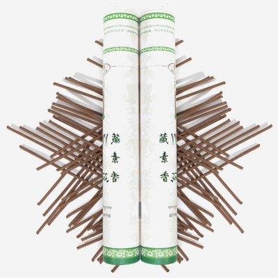 【中華特色館】西藏館 藏香 藏素香牌 西藏楚布寺 助于凈化空氣香 天然植物藥材藏香