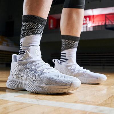 喬丹籃球鞋男鞋夏季新款休閑文化鞋透氣運動鞋男低幫球鞋戰靴男籃球鞋