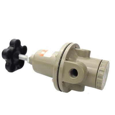 气动元件空气减压阀QTY-15/8/10/20/25 调压阀气源处理器带压力表 QTY-32(1.2寸)