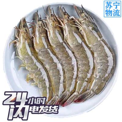 九善食 南美白蝦 毛重4斤79元 厄瓜多爾白蝦 凈重2.8-3.2斤(70-100)海產冷凍蝦海鮮生鮮水產