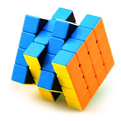 圣手7204A寶石四階魔方 專業比賽專用4階魔方GEM寶石 兒童益智玩具減壓魔方順滑不褪色 彩色