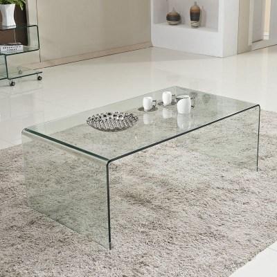 茶几透明玻璃桌简约现代创意小户型茶桌子茶台长方形简易办公