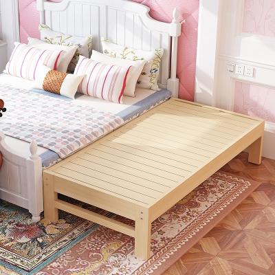 加宽床边儿童宝宝拼接床护栏婴儿实木加床大床拼接小床延边床定做 180*60*床高自定(护栏另收费) (总长总宽)