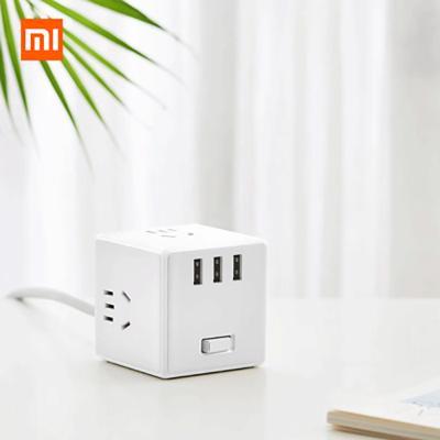 小米(MI) 米家家用插排魔方插座带开关接线板拖线板电源转换器 有线版