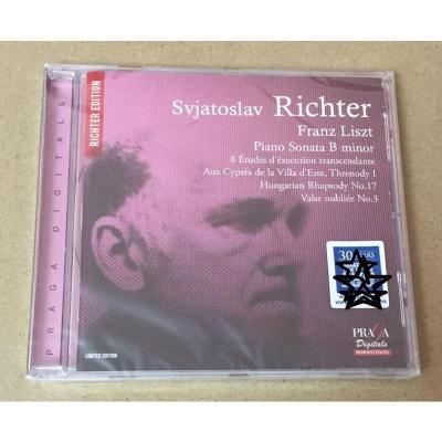 Praga DSD350078 李斯特 鋼琴奏鳴曲等 Richter 李赫特SACD