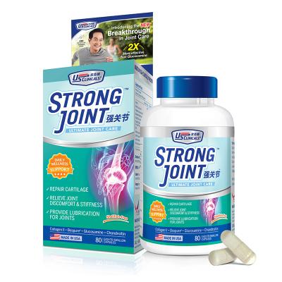 優克利強關節美國進口氨糖維骨力二型骨膠原蛋白氨基葡萄糖軟骨素80粒