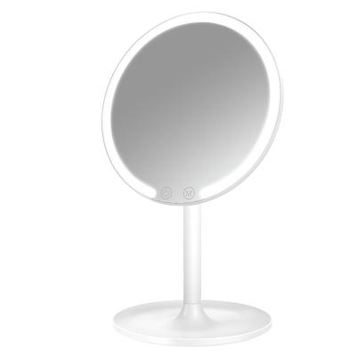 easehold憶思好juju美妝鏡帶燈臺式led燈補光宿舍充電便攜網紅補妝