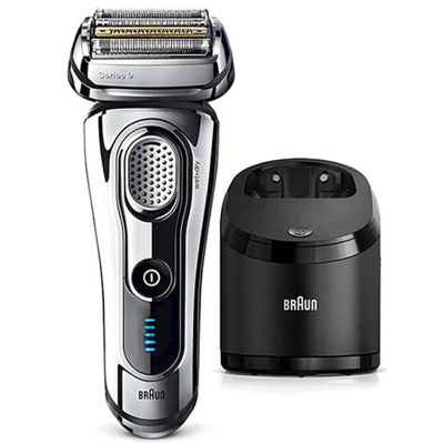 【德國工藝】博朗(BRAUN)9295CC 往復式電動剃須刀 充電式 全身水洗 LED顯示 四刀頭 干濕雙剃 刮胡刀