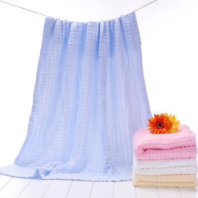 斜月三星母嬰 純棉嬰幼兒童被 六層紗布泡泡棉蓋被