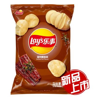 乐事 蒲烧鳗鱼味薯片 75克/袋