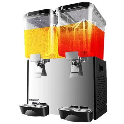 美萊特YLJ商用冷飲機冷熱18L雙缸三缸果汁機自助餐廳酸梅湯飲料機