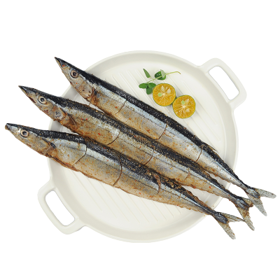 纯色本味 冷冻麻辣秋刀鱼 250g/袋 (3条装)烧烤 海鲜水产
