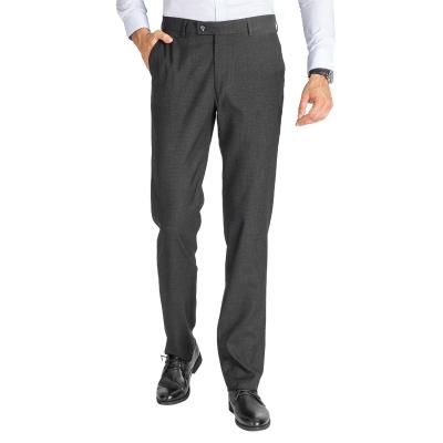 红豆相思鸟(xiangsiniao)四季新款商务西装裤男舒适柔软垂顺坠感新郎结婚修身西服裤子