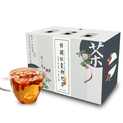 葉三張 紅棗桂圓枸杞茶120g 內含10小包 氣血女人調理花茶組合 五寶八寶保健茶飲 花草茶