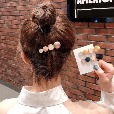 韓國創意馬卡龍發夾發卡女劉海邊夾后腦勺ins風網紅同款夾子頭飾