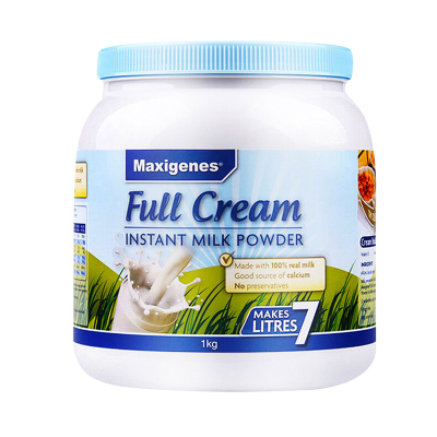 5件裝| 美可卓全脂成人奶粉1kg