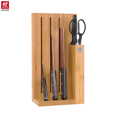 双立人(ZWILLING)Chef系列刀具6件套装厨房不锈钢菜刀多用刀蔬果刀