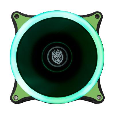 IPASON/攀升 VTG台式炫光静音光轮电脑机箱风扇12cm机箱散热风扇 绿色光轮风扇