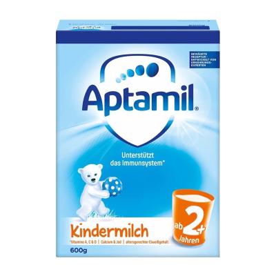 德国爱他美aptamil 普通装 2+段 婴幼儿配方奶粉 600g 保税区发货