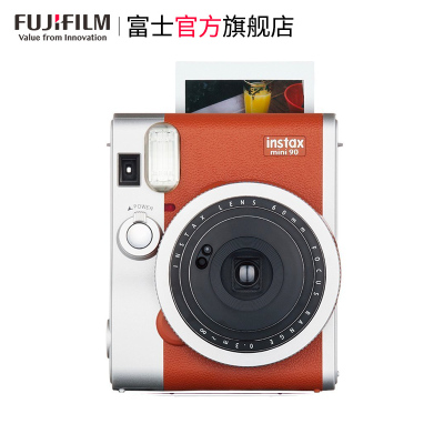 FUJIFILM/富士 instax MINI/mini90 棕 富士 经典复古 拍立得 相机 胶片相机 富士小尺寸胶片