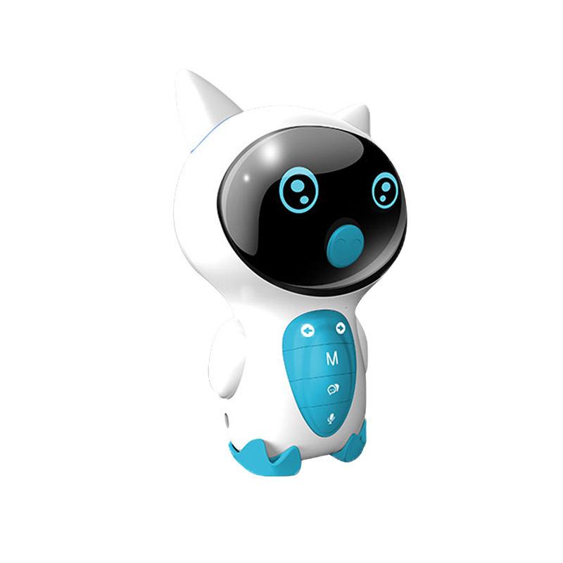 小琪XIAOQI 小Z儿童智能机器人玩具对话语音男女小孩人工陪伴学习早教机蓝色