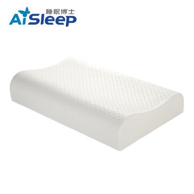 睡眠博士(AiSleep)乳胶释压按摩枕标准款 单人枕芯/枕头