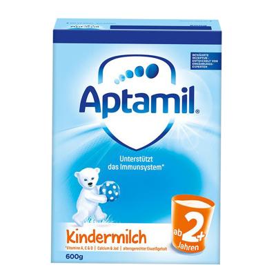 aptamil德国爱他美婴幼儿配方奶粉2+段5段2岁以上600g德国原装进口