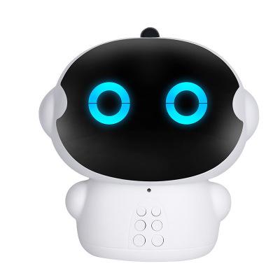 小可A6 智能机器人语音对话高科技男孩女孩家庭教育早教WIFI学习机 白色