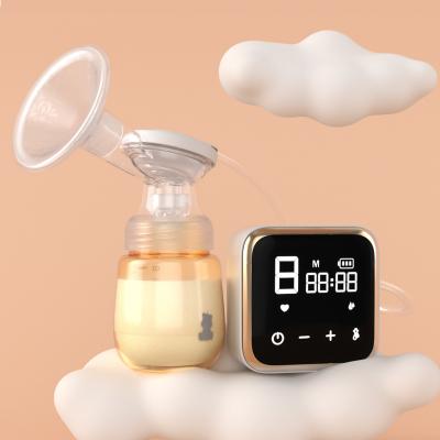 小白熊智能电动吸奶器 锂电池可充电式吸奶器 静音拔奶器 HL-0851