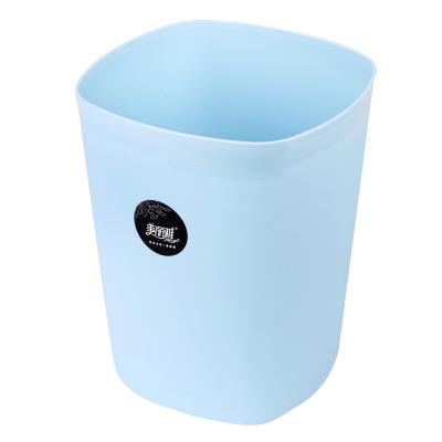 美丽雅maryya 炫彩塑料垃圾桶方形(小) 3.8L