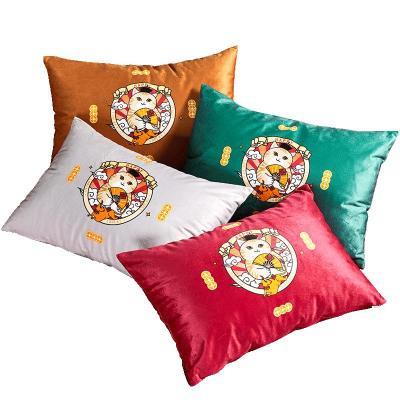 【易烊千玺套件同款】罗莱家纺故宫猫套件同款家用客厅靠垫抱枕头