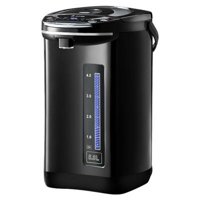 容声电热水瓶家用304不锈钢内胆电热水壶6段控温烧水保温一体开水瓶防干烧全自动多功能大容量烧水器恒温 黑色