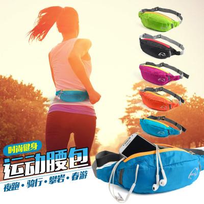 威迪瑞 便携户外腰包通用男女运动旅行腰包PVC防水骑行跑步腰包腰包/手包/配件包