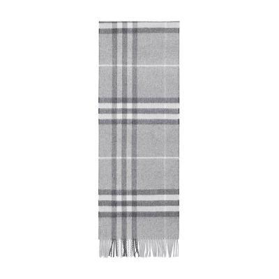 BURBERRY 博柏利 男女通用款经典格纹山羊绒围巾