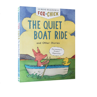 英文原版 Fox & Chick: The Quiet Boat Ride & Other Stories 精装儿童