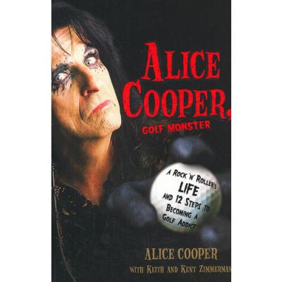 ALICE COOPER, GOLF MONSTER(ISBN=9780307382917) 英文原版