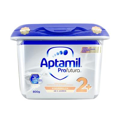 【免邮包税】Aptamil德国爱他美白金版HMO 安心罐 婴幼儿配方奶粉2+段奶粉(2岁以上) 800g/罐