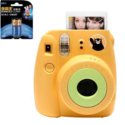 【套餐】富士(FUJIFILM)INSTAX 一次成像相机 MINI8 相机 熊本熊 黄色+金霸王5号电池2粒装